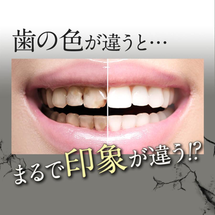 ホワイトニング 歯磨き粉 歯磨きジェル ブレッシュホワイトニング (30g/3個) 黄ばみ やに 歯周病 口臭対策 ポリリン酸 セルフ 美白|bizento|08