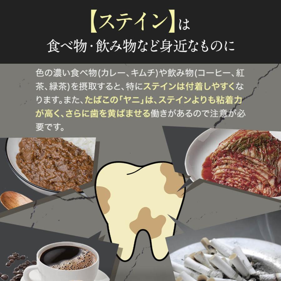 ホワイトニング 歯磨き粉 歯磨きジェル ブレッシュホワイトニング (30g/3個) 黄ばみ やに 歯周病 口臭対策 ポリリン酸 セルフ 美白|bizento|10