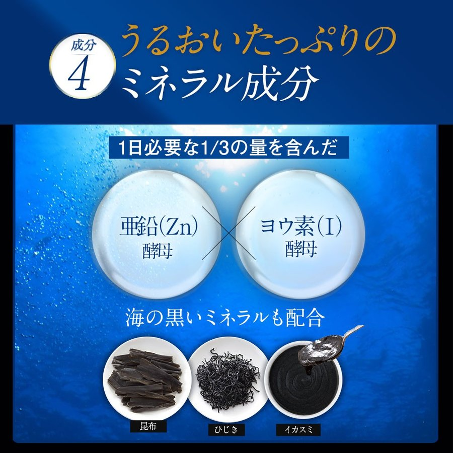 黒艶 サプリ リクロン ブラック Re:CLON BLACK (60粒/4袋) エイジングケア成分 ハリ ツヤ シスチン チロシン 黒穀物 bizento 07