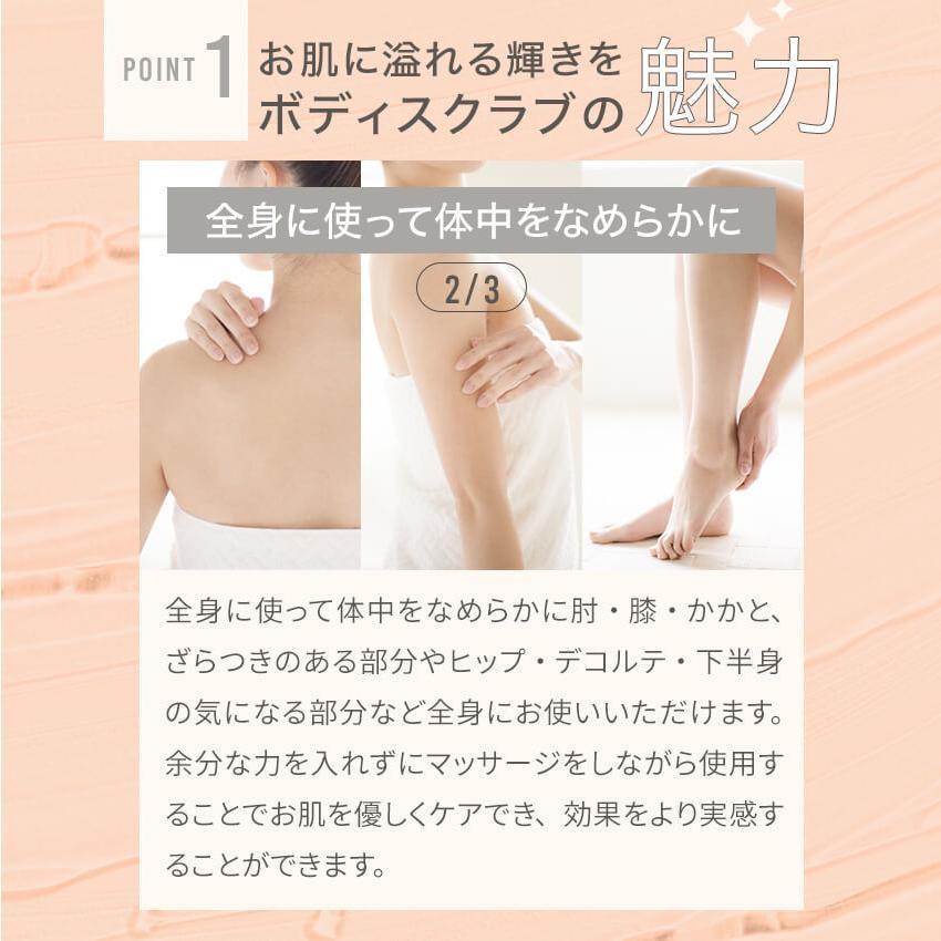 ボディスクラブ 薬用 医薬部外品 スクラボ sclabo (120g/4袋) ボディ 角質 ニキビ 保湿 乾燥肌 敏感肌 黒ずみ ブツブツ bizento 10