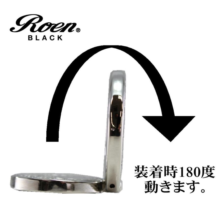 スマホリング スマートフォンリング メンズ アクセサリー Roen ロエン ブラック スマホ スタンド バンカー ホールド リング タブレット アイフォン ギャラクシー bj-direct 11