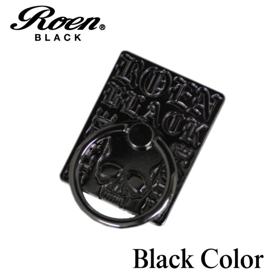 スマホリング スマートフォンリング メンズ アクセサリー Roen ロエン ブラック スマホ スタンド バンカー ホールド リング タブレット アイフォン ギャラクシー bj-direct 07