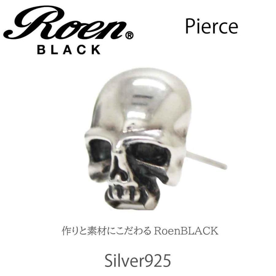 Roen Black ロエン アクセサリー メンズ ピアス スカル シルバー bj-direct 02