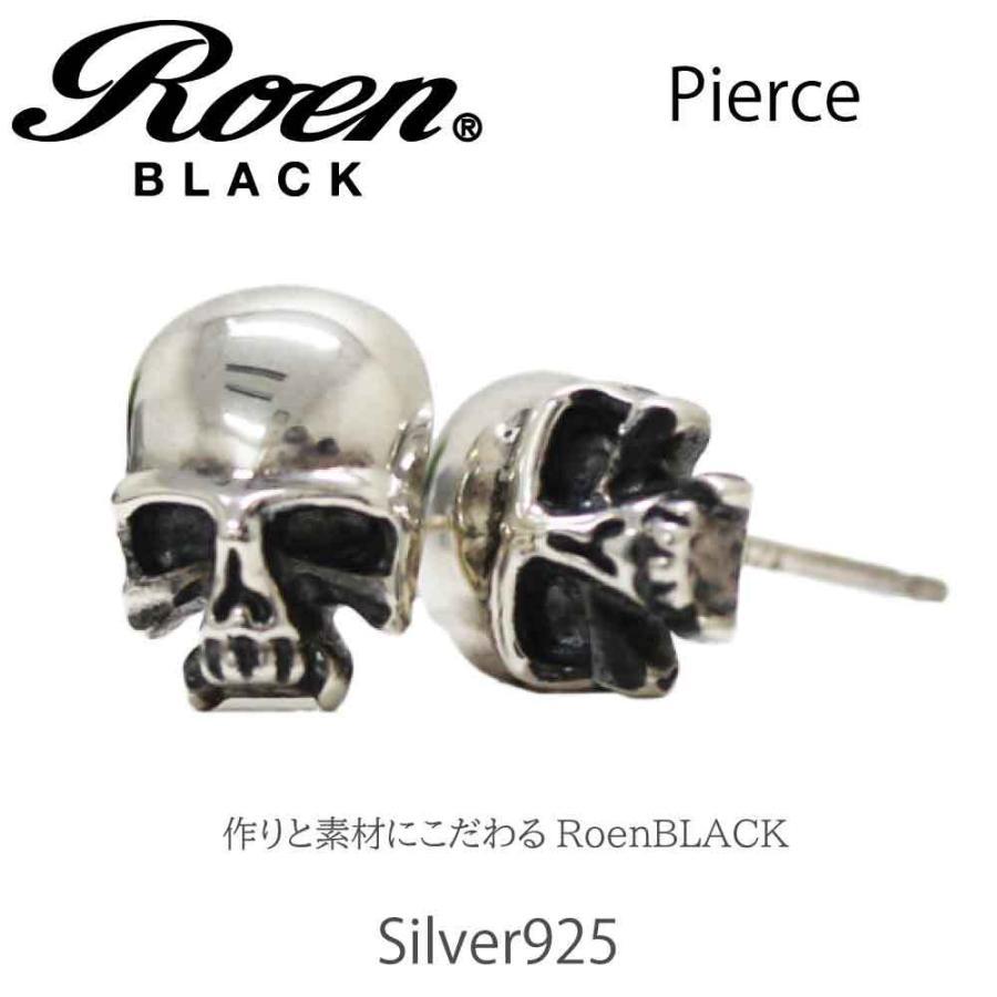 Roen Black ロエン アクセサリー メンズ ピアス スカル シルバー bj-direct 05