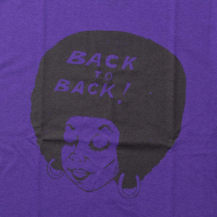 Back to Back originals SST Afro PR バック・トゥ・バック オリジナルT アフロ パープル|bk2bk|02