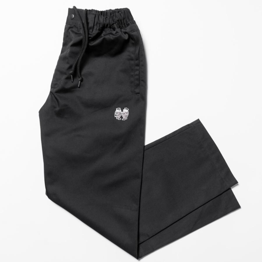 "[SIRANO BROS.] EZ WorkPants ""mini Mr.T&Mr.Y"" Black ブラック イージーワークパンツ シラノブロス|bk2bk"
