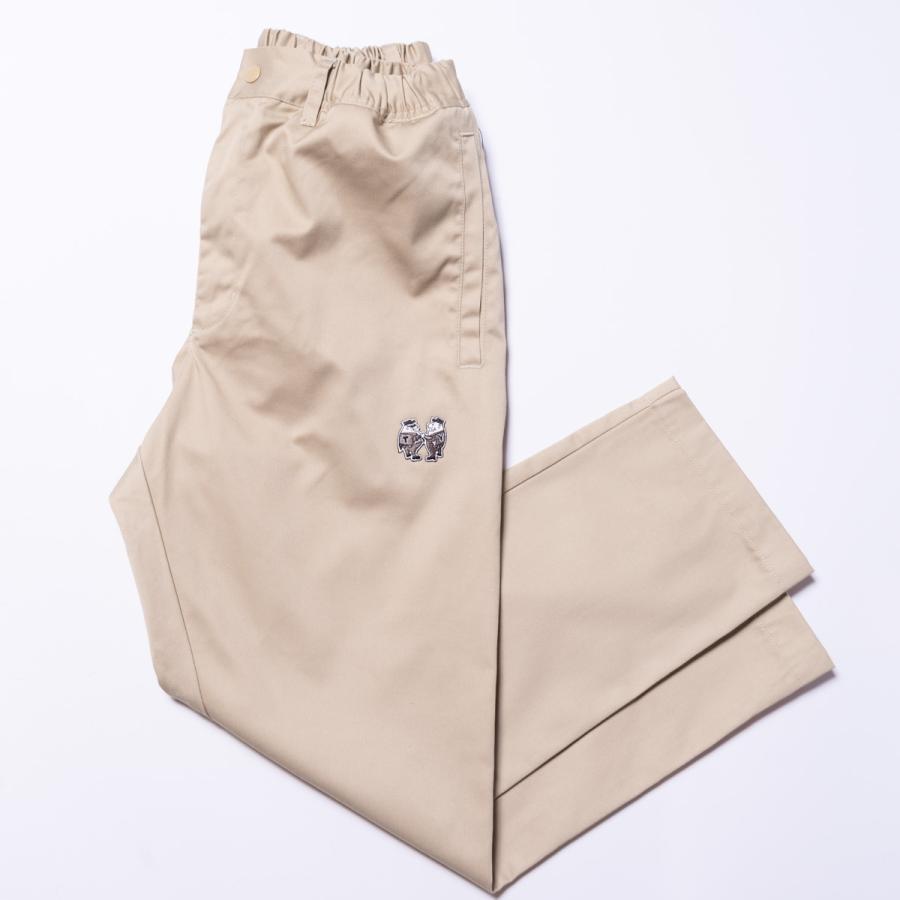 "[SIRANO BROS.] EZ WorkPants ""mini Mr.T&Mr.Y"" Khaki カーキ イージーワークパンツ シラノブロス|bk2bk"