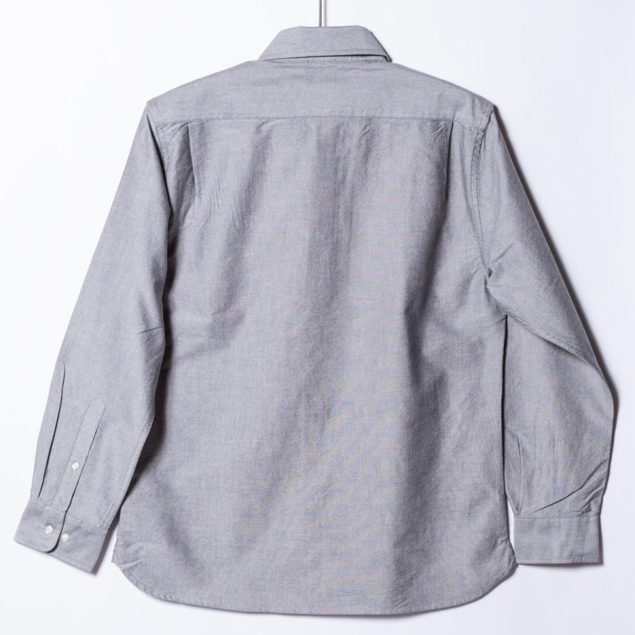 "[SIRANO BROS.] Longsleeve B.D.Shirts ""mini Mr.T&Mr.Y"" Gray グレー 長袖ボタンダウンシャツ シラノブロス bk2bk 02"