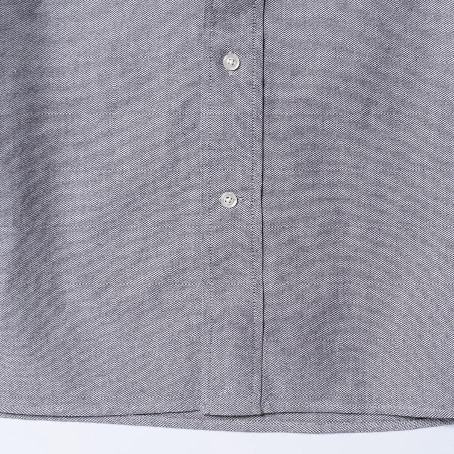 "[SIRANO BROS.] Longsleeve B.D.Shirts ""mini Mr.T&Mr.Y"" Gray グレー 長袖ボタンダウンシャツ シラノブロス bk2bk 07"