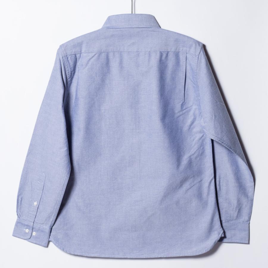 "[SIRANO BROS.] Longsleeve B.D.Shirts ""mini Mr.T&Mr.Y"" LightBlue ライトブルー 長袖ボタンダウンシャツ シラノブロス bk2bk 02"