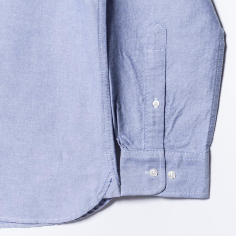 "[SIRANO BROS.] Longsleeve B.D.Shirts ""mini Mr.T&Mr.Y"" LightBlue ライトブルー 長袖ボタンダウンシャツ シラノブロス bk2bk 05"