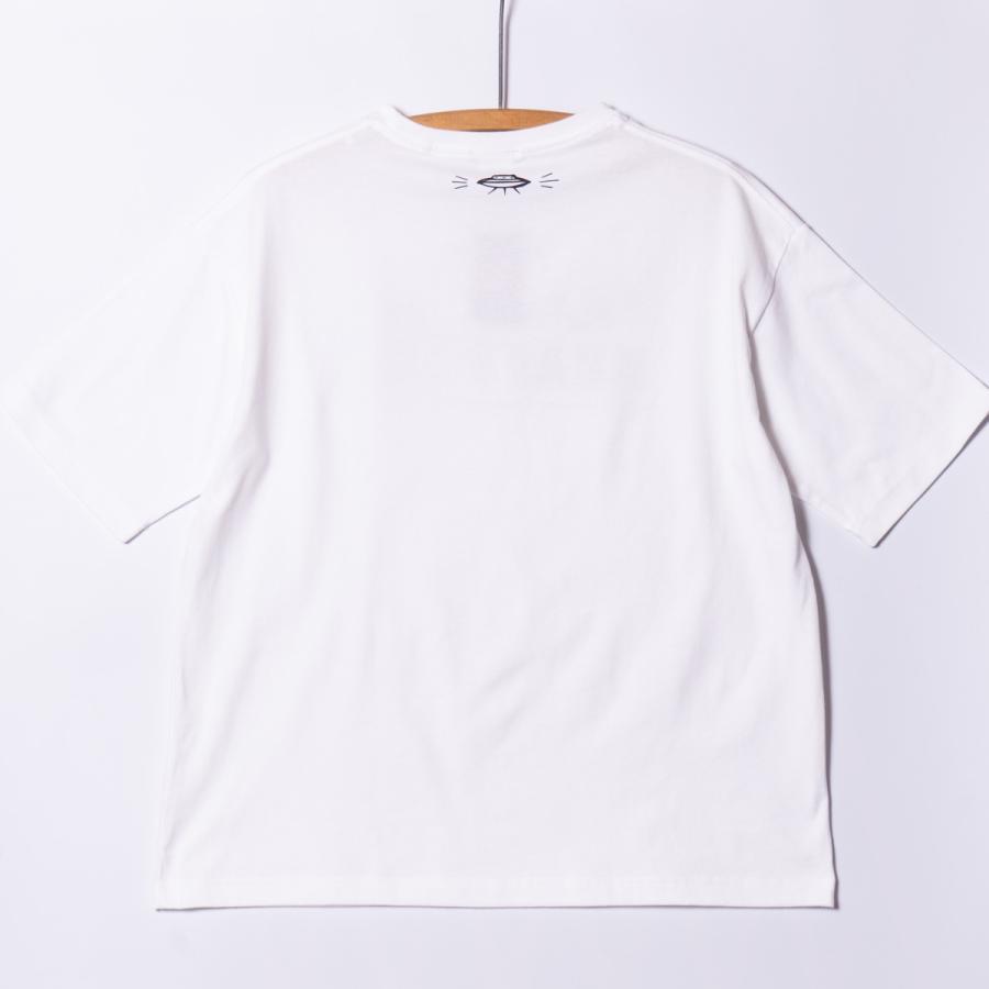 "[Back to Back] 5.6oz Big Silhouette T-shirts ""FRANK KRAFT"" ホワイト RAT HOLE TAT2  ビッグシルエット|bk2bk|03"