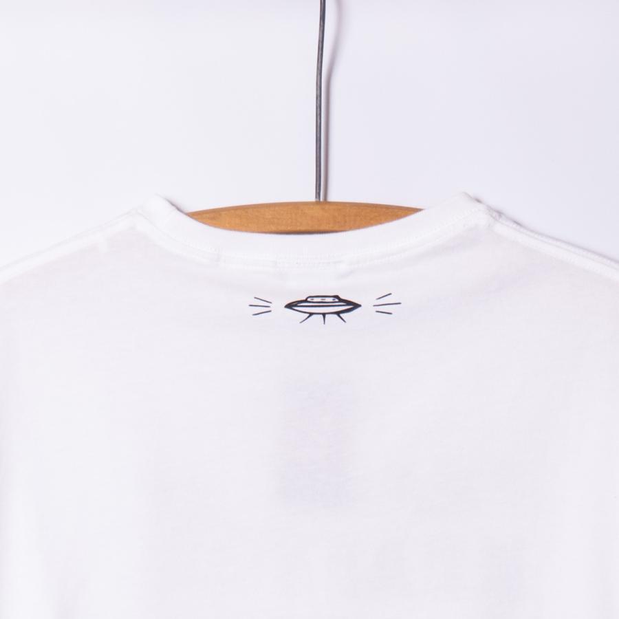 "[Back to Back] 5.6oz Big Silhouette T-shirts ""FRANK KRAFT"" ホワイト RAT HOLE TAT2  ビッグシルエット|bk2bk|04"