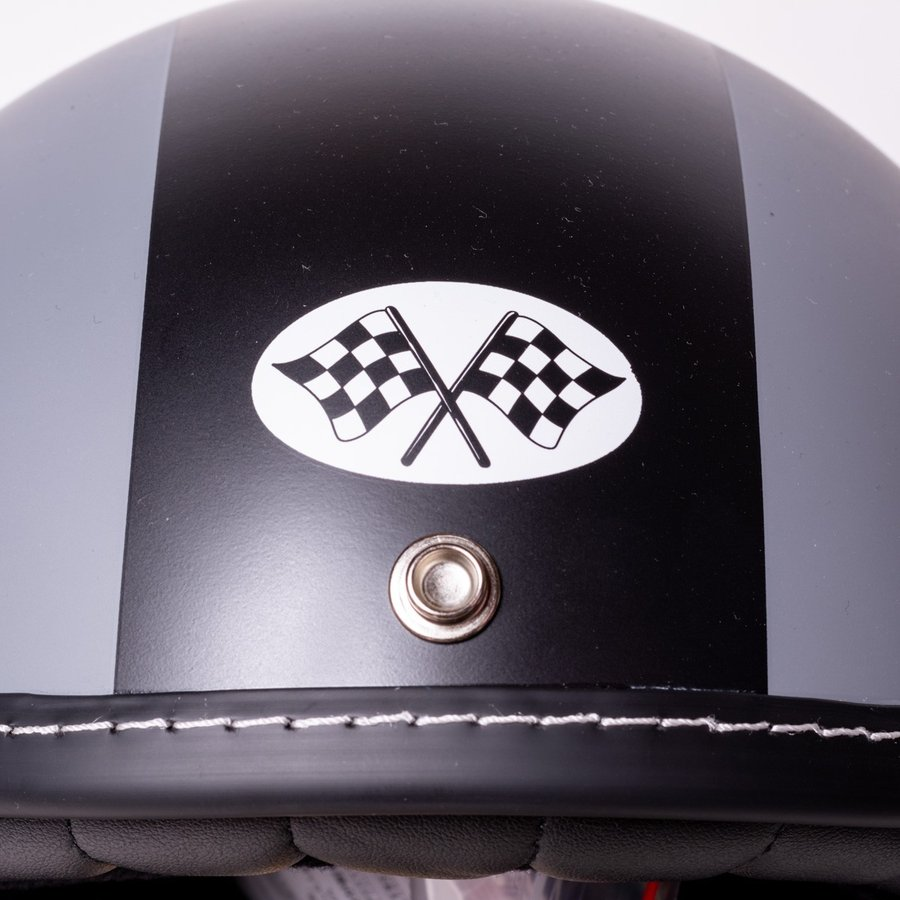 "SIRANO BROS. MOTORCYCLE EQUIPMENT - 3/4 OPEN FACE MOTORCYCLE HELMET ""Mr.T & Mr.Y"" シラノブロス|bk2bk|05"