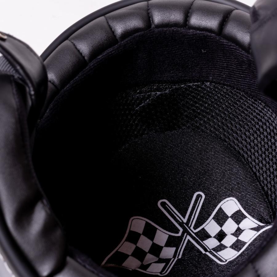 "SIRANO BROS. MOTORCYCLE EQUIPMENT - 3/4 OPEN FACE MOTORCYCLE HELMET ""SMOKERS M.C."" シラノブロス bk2bk 16"
