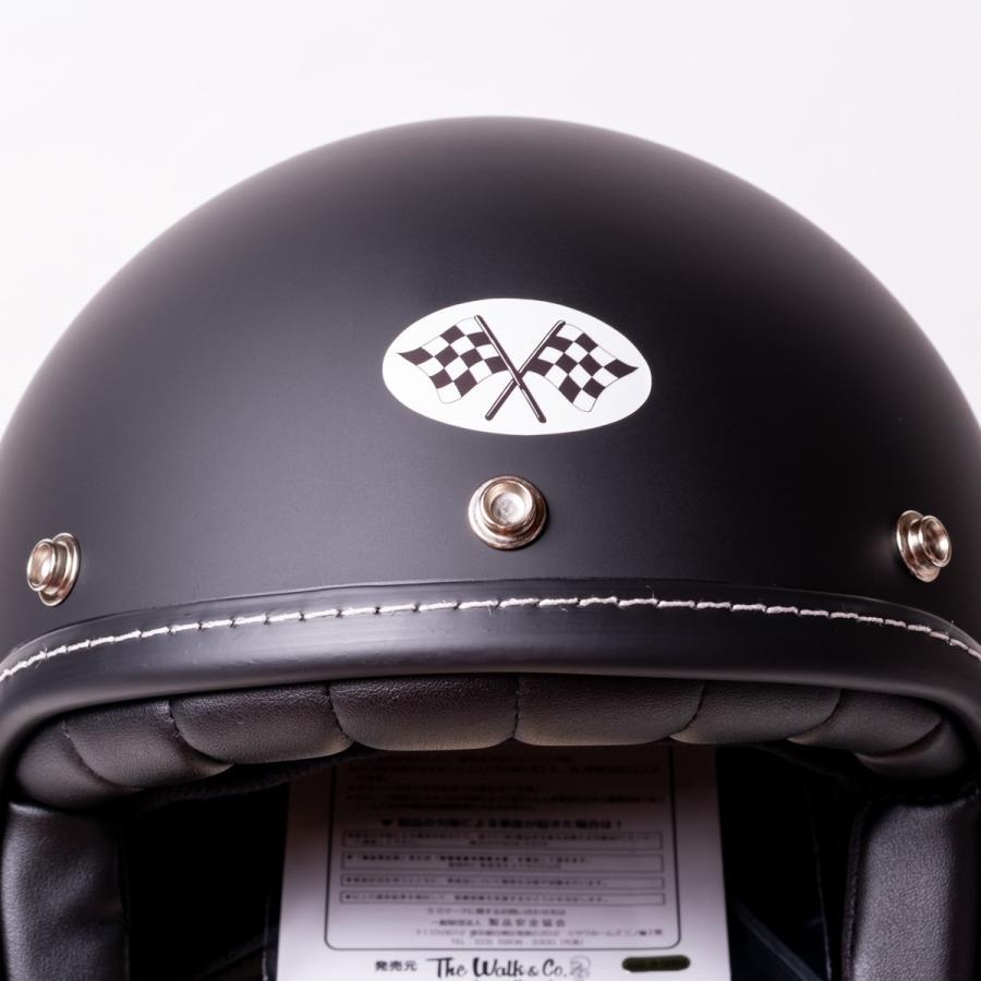 SIRANO BROS. MOTORCYCLE EQUIPMENT - 3/4 OPEN FACE MOTORCYCLE HELMET, Plain model ブラック シラノブロス|bk2bk|03