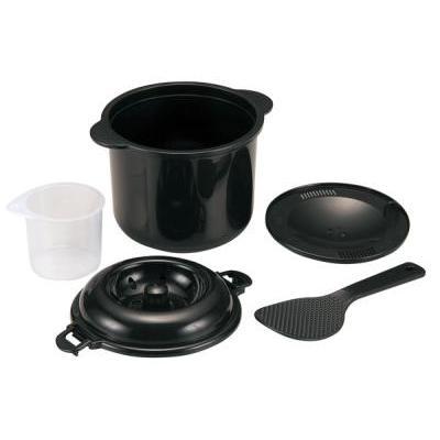 電子レンジ専用炊飯器 ちびくろちゃん 2合炊き|bkworld