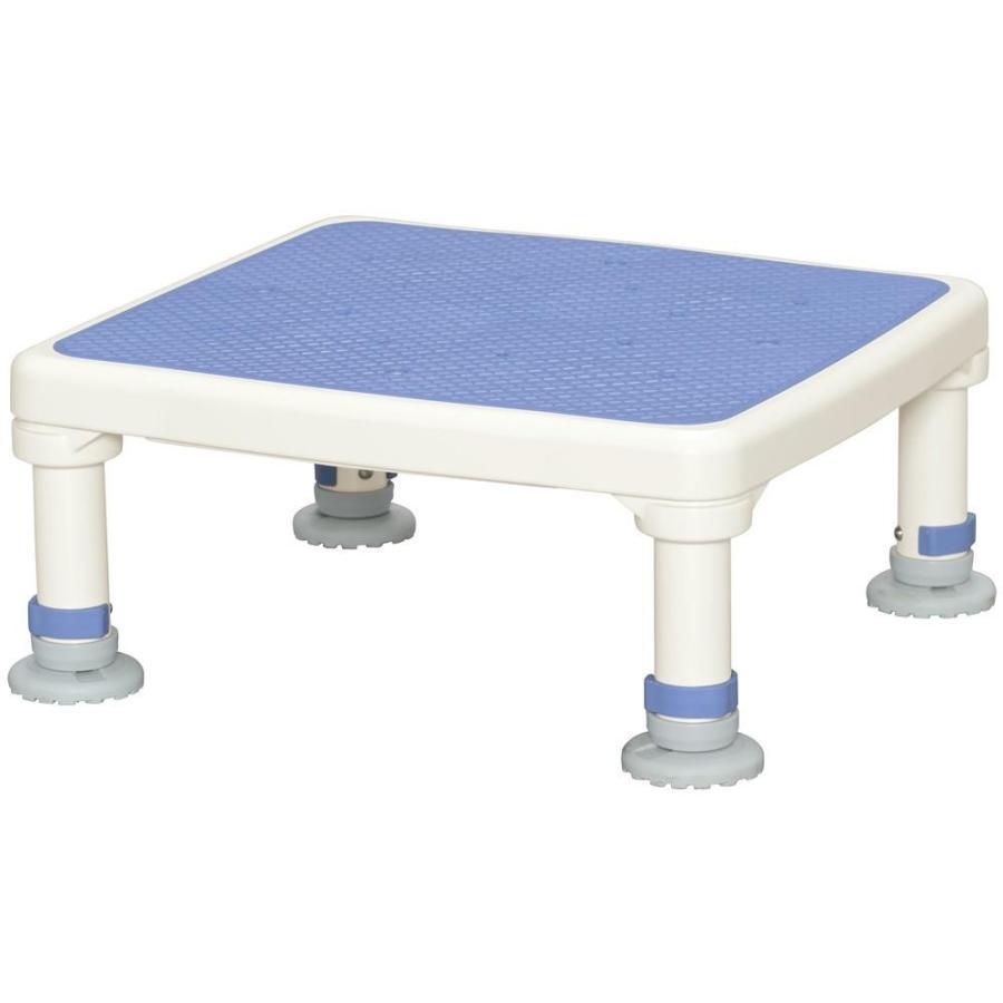 人気デザイナー あしぴたシリーズ ジャスト 15-25 ブルー アルミ製浴槽台-介護用品