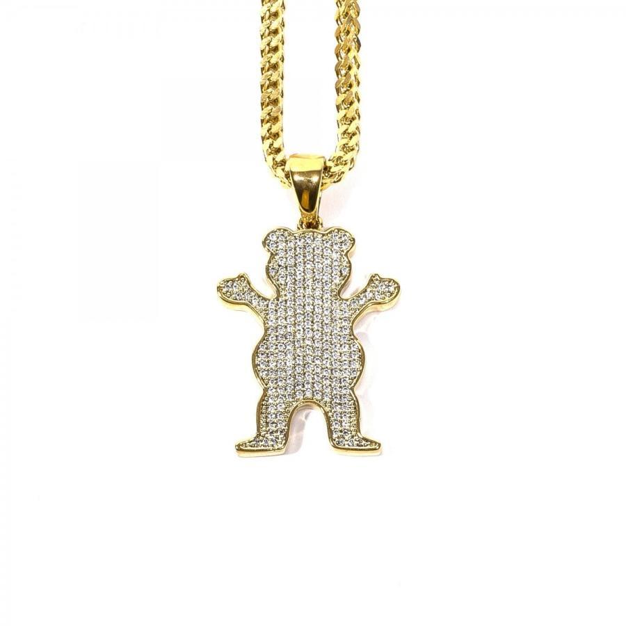【驚きの値段】 GRIZZLY Iced Bear GRIPTAPE グリズリーグリップテープ Grizzly X Gold Gods Gods Iced OG Bear Chain, シザーケースと雑貨のKAFUTA:724bc980 --- airmodconsu.dominiotemporario.com