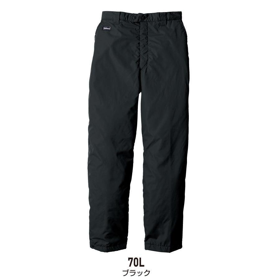 防寒着 メンズ 中綿パンツ ロング丈 軽量 撥水 作業服 作業着 ビッグボーン 8382L|blakladerjp|11