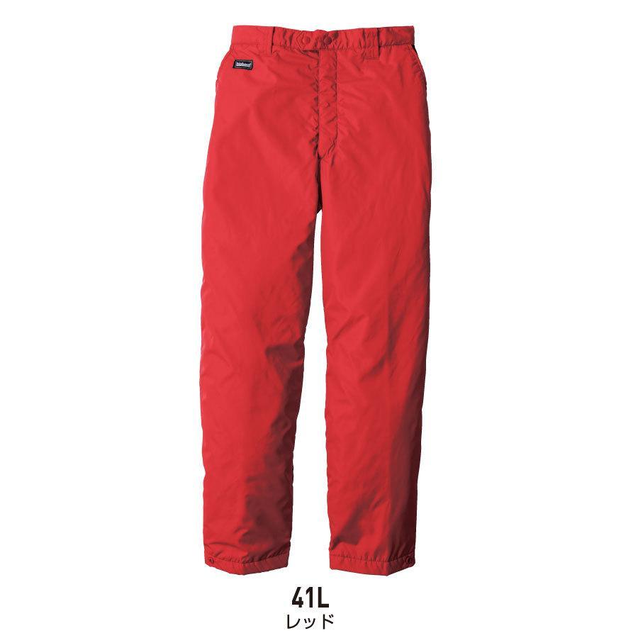 防寒着 メンズ 中綿パンツ ロング丈 軽量 撥水 作業服 作業着 ビッグボーン 8382L|blakladerjp|06