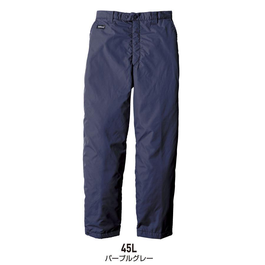 防寒着 メンズ 中綿パンツ ロング丈 軽量 撥水 作業服 作業着 ビッグボーン 8382L|blakladerjp|07