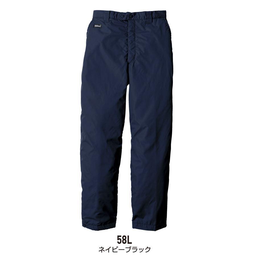 防寒着 メンズ 中綿パンツ ロング丈 軽量 撥水 作業服 作業着 ビッグボーン 8382L|blakladerjp|10