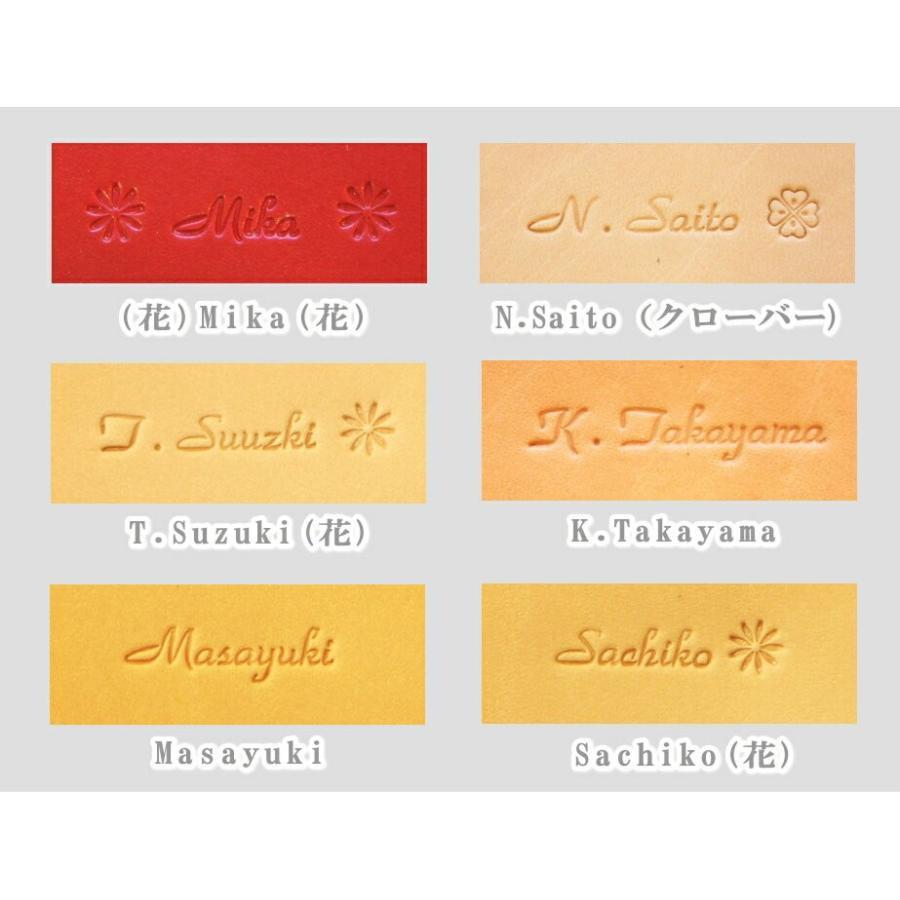 (カスタマイズパーツ)  名入れ刻印|blanc-couture|06