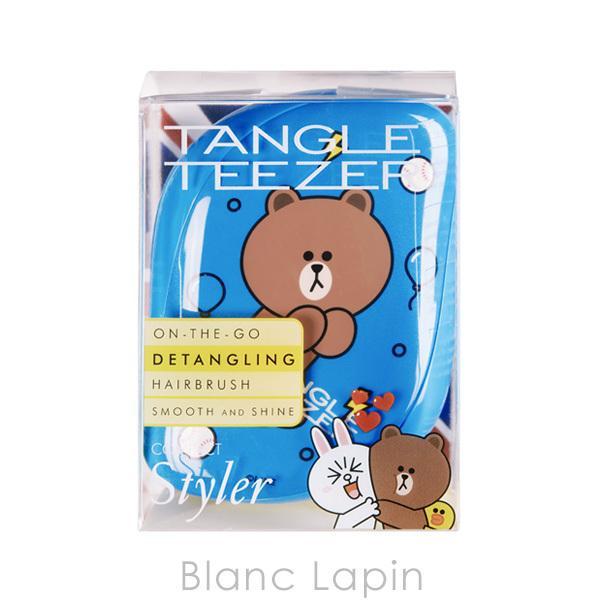 タングルティーザー TANGLE TEEZER コンパクトスタイラー LINE FRIENDS ブラウン [763540] blanc-lapin 04