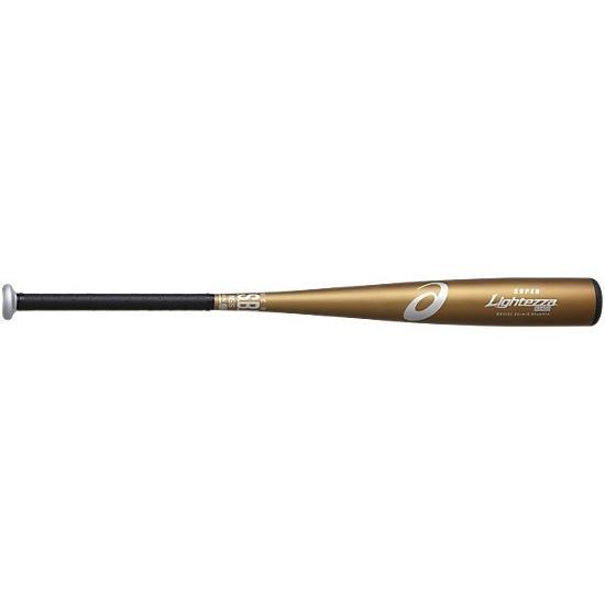 野球 軟式金属バット 84cm スーパーライテッザ BB3033-16 プレミアムゴールド
