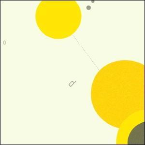 ポスター 北欧スタイル A2サイズ 『Cooperation2 イエロー d』 おしゃれ インテリア Interior Art Poster|blankwall|02