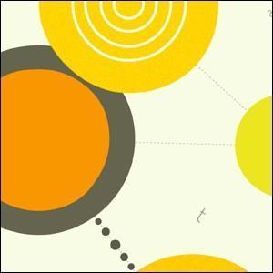 ポスター 北欧スタイル A2サイズ 『Cooperation2 イエロー d』 おしゃれ インテリア Interior Art Poster|blankwall|03