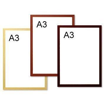 ポスターフレーム A3サイズ(職人の手によるオリジナル国産ウッドフレーム) Made in Japan / 木製 / Poster Frame / Wood Frame / 額縁 blankwall 02