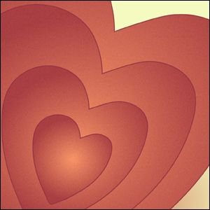 ポスター A3サイズ 『Heart』 ハート/おしゃれ/ポップポスター/Interior Art Poster blankwall 02