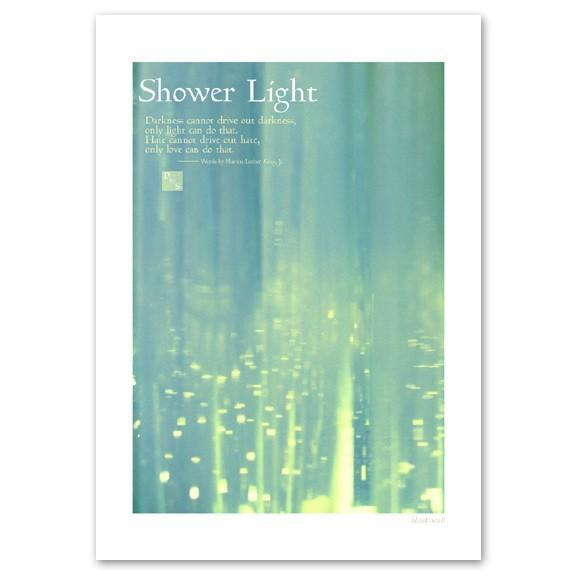 ポスター A3サイズ 『Shower Light』 おしゃれ フォト ポスター Interior Art Poster|blankwall