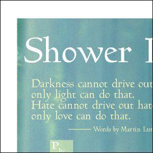ポスター A3サイズ 『Shower Light』 おしゃれ フォト ポスター Interior Art Poster|blankwall|03