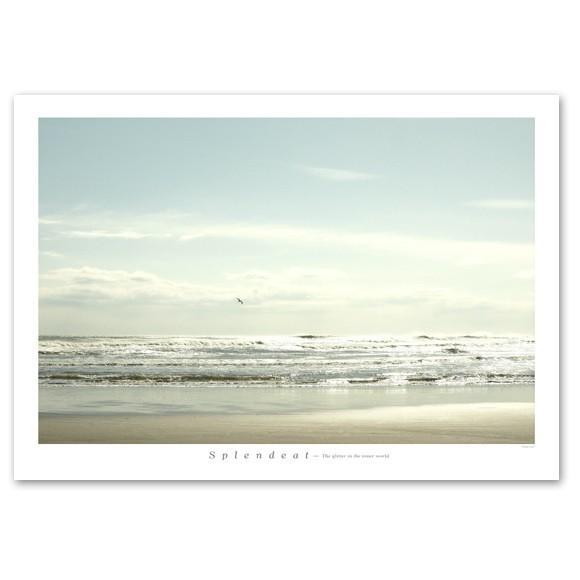 ポスター A2サイズ 『Splendeat』 フォト 風景,景色 インテリア アート 海|blankwall