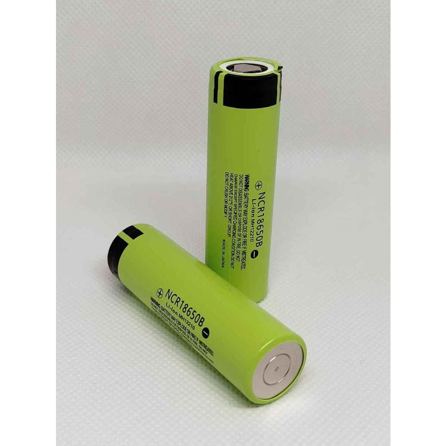 2本以上の販売 パナソニック NCR18650B 3500mAh 贈呈 開店記念セール テスラモデル リチウムイオン充電池