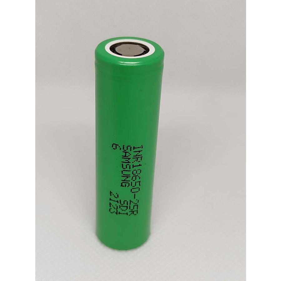 お得セット 1本の販売 サムソン Samsung 2500mAh 再再販 INR18650-25R リチウムイオン充電池