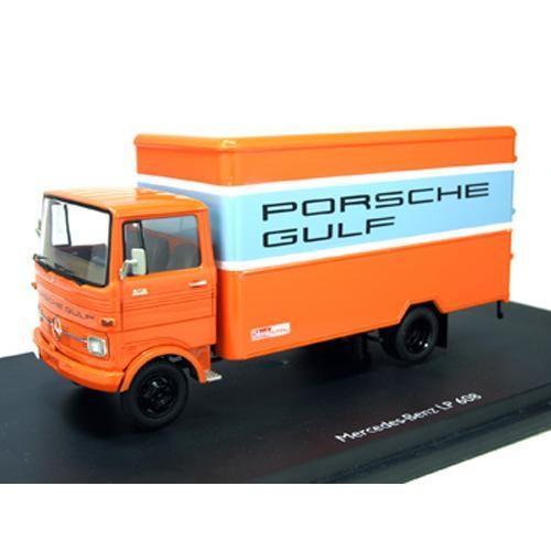 Schuco/シュコー メルセデス・ベンツ LP608 PORSCHE GULF オレンジ 1/43スケール 03524