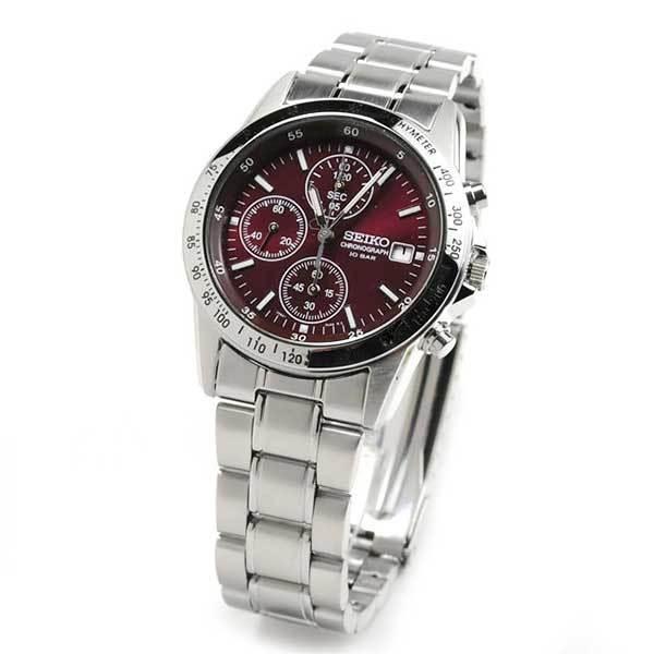 メンズ腕時計 還暦祝い 男性 プレゼント 腕時計 匠の名入れ付 赤色 セイコー クロノグラフ SEIKO SBTQ045 blessyou 06