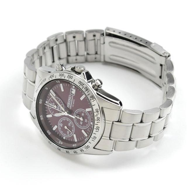 メンズ腕時計 還暦祝い 男性 プレゼント 腕時計 匠の名入れ付 赤色 セイコー クロノグラフ SEIKO SBTQ045 blessyou 08