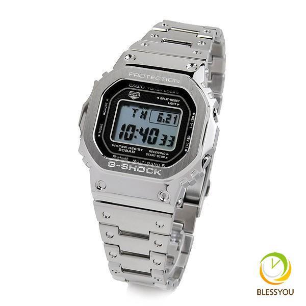 在庫あり 国内正規品  カシオ gショック 電波ソーラー G-SHOCK 腕時計 メンズ 2018年4月 GMW-B5000D-1JF 60000