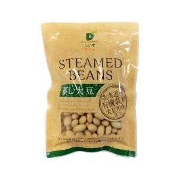 北海道産有機蒸し大豆 100g だいずデイズ
