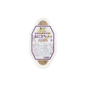 オーサワの国内産有機活性発芽玄米おにぎり(しそ入り) オーサワジャパン 90g×2個×8個