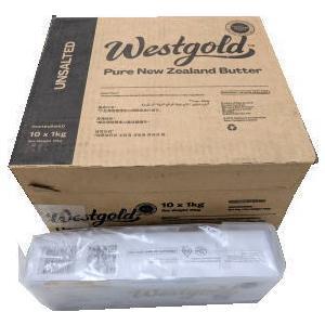 あすつく 新品未使用 ニュージーランド産グラスフェッド 通常便なら送料無料 無塩バター 1kgx2 2個セット 関東送料765円