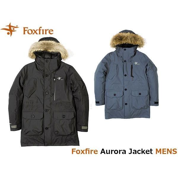 フォックスファイヤー Foxfire メンズ オーロラジャケット アウター ダウン ゴアテックス GORE-TEX 防水 登山 アウトドア Aurora Jacket FOX5113732 国内正規品