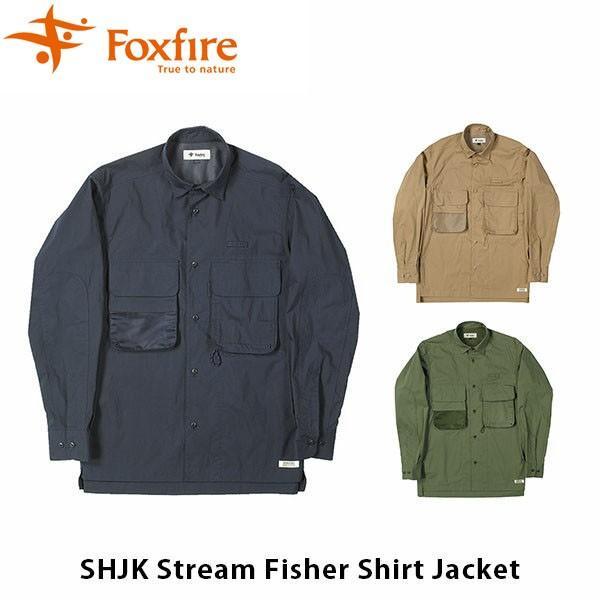 フォックスファイヤー Foxfire メンズ ストリーム フィッシャー シャツ ジャケット 長袖 クロージングギア 登山 アウトドア 釣り フィッシング FOX6213915