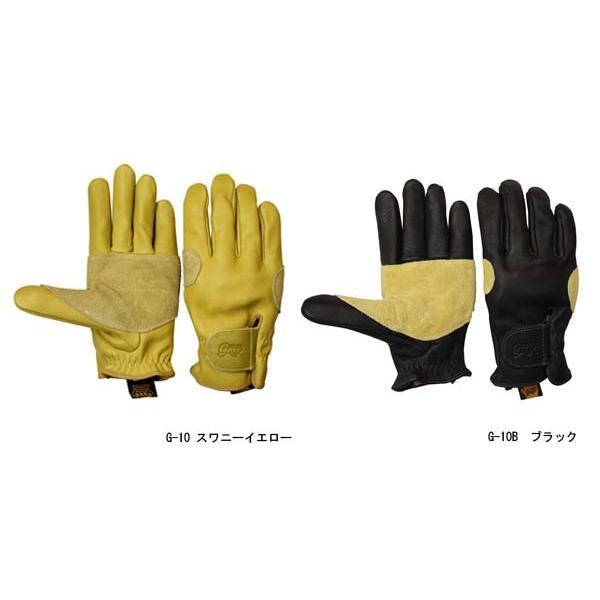 グリップスワニー グローブ G-10 ビレイモデル ワークグローブ レザー 本革 手袋 バイク レディース メンズ コラボ 別注 Limited Model G-10B GRIP SWANY G10