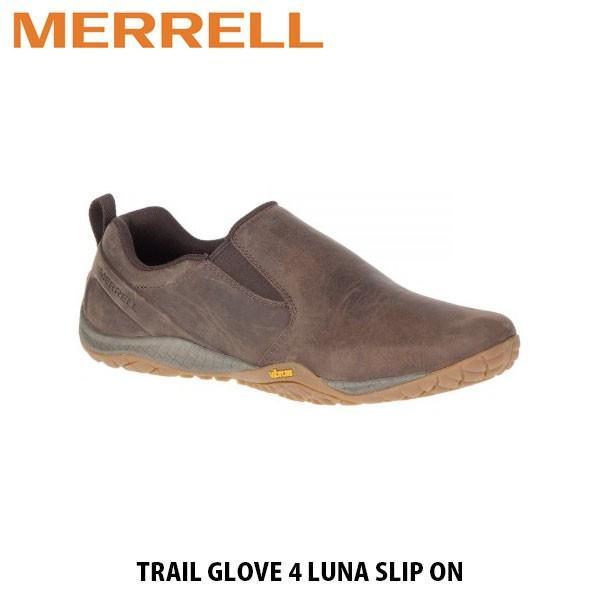 メレル MERRELL メンズ シューズ スリッポン トレイル グローブ 4 ルナ スリップ オン エスプレッソ TRAIL GLOVE 4 LUNA SLIP ON ESPRESSO 84973 MERM84973